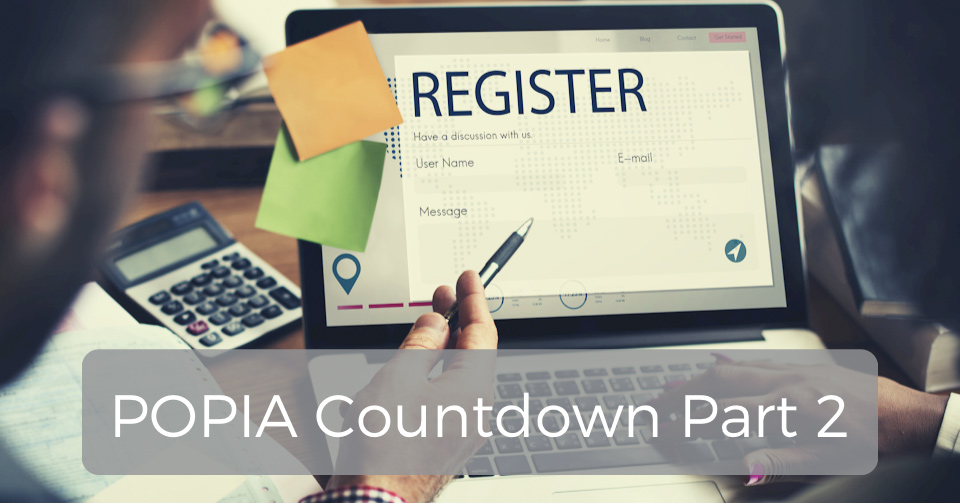 Machete Creative 9 Aug, 2021 Building a POPIA-Compliant Database