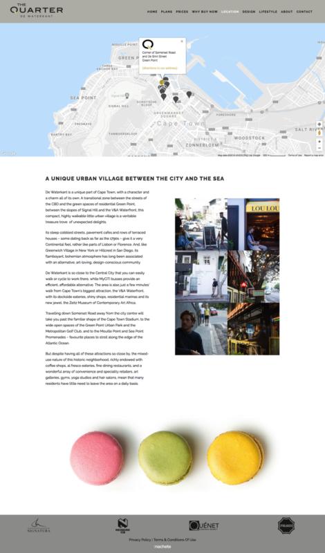 Machete Creative 27 Oct, 2020 THE QUARTER WEBSITE
