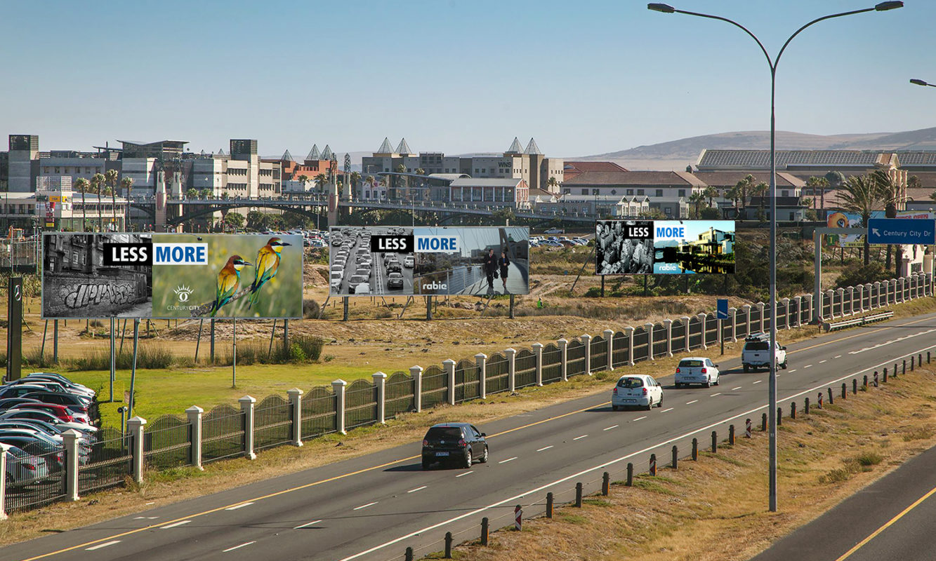 Machete Creative 17 Apr, 2021 CENTURY CITY N1 BILLBOARDS: MARCH 2018