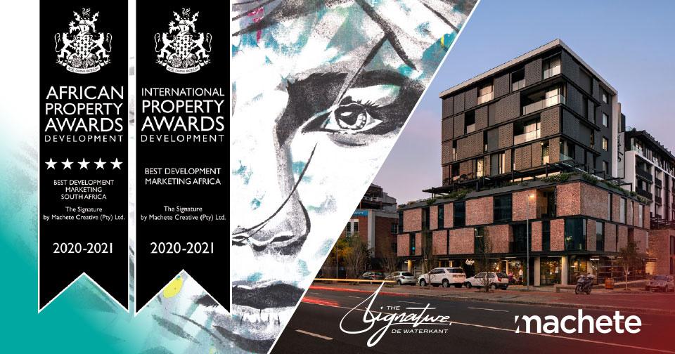 Machete Creative 23 Apr, 2021 Machete Takes Top Property Marketing Award in Africa